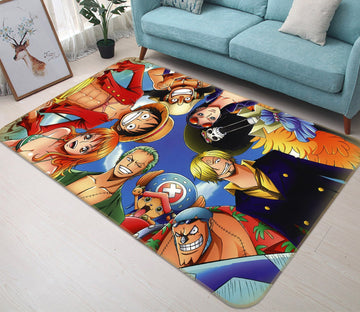 3D ONE PIECE 8943 Anime Non Slip Rug Mat Mat AJ Creativity Home
