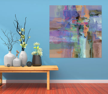 3D Abstract Art 017 Michael Tienhaara Wall Sticker