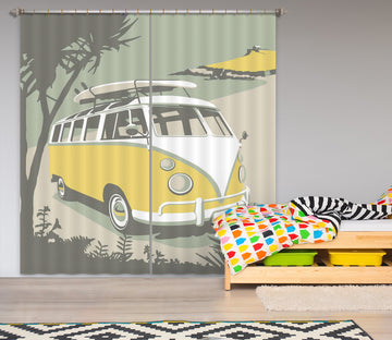 3D St Camper 159 Steve Read Curtain Curtains Drapes