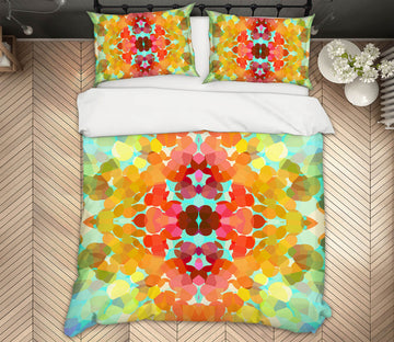 3D Colors Flower 70187 Shandra Smith Bedding Bed Pillowcases Quilt