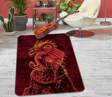 3D Abolisher Red Version 1005 Vincent Hie Rug Non Slip Rug Mat Mat AJ Creativity Home