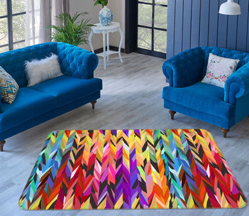 3D Colorful Pattern 1049 Shandra Smith Rug Non Slip Rug Mat