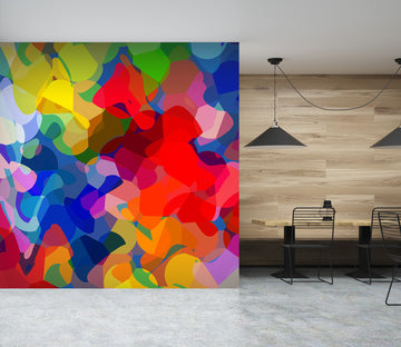 3D Bright Colors 1006 Shandra Smith Wall Mural Wall Murals