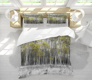 3D Forest Weed 1055 Assaf Frank Bedding Bed Pillowcases Quilt