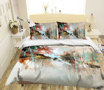 3D Color Graffiti 2008 Anne Farrall Doyle Bedding Bed Pillowcases Quilt