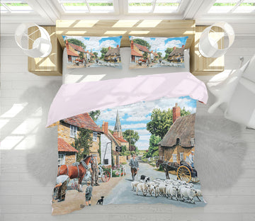 3D The Village Farrier 2073 Trevor Mitchell bedding Bed Pillowcases Quilt
