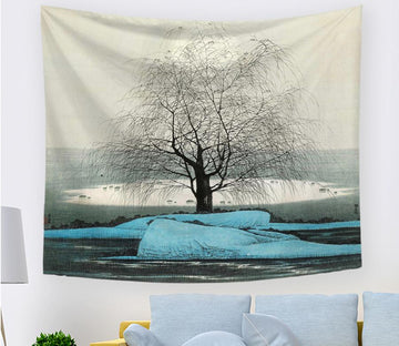 3D Black Branches 2384 Tapestry Hanging Cloth Hang Tapestry AJ Creativity Home