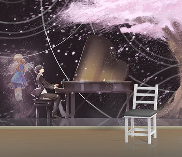 3D Your Lie In April 229 Anime Wall Murals