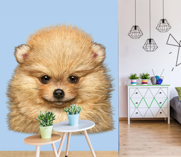 3D Cute Dog 1539 Wall Murals Exclusive Designer Vincent
