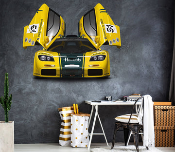 3D McLaren GTR HOOD 0195 Vehicles