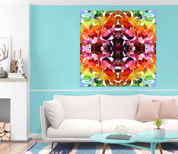3D Color Pattern 012 Shandra Smith Wall Sticker
