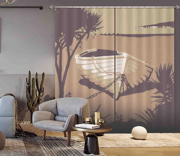 3D PSandbanks The Purbecks 141 Steve Read Curtain Curtains Drapes