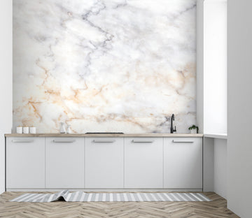 3D Wave Marble 36 Wall Murals