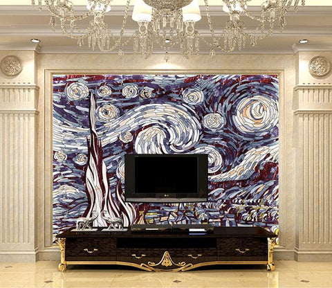 3D Abstract Pattern 873 Wall Murals Wallpaper AJ Wallpaper 2