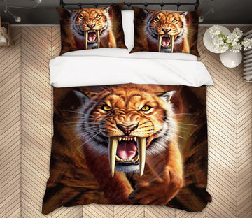 3D Sabertooth 2130 Jerry LoFaro bedding Bed Pillowcases Quilt