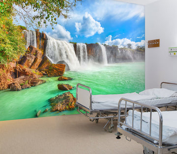 3D Fierce Waterfall 304 Wall Murals