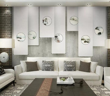 3D Abstract Art WC184 Wall Murals