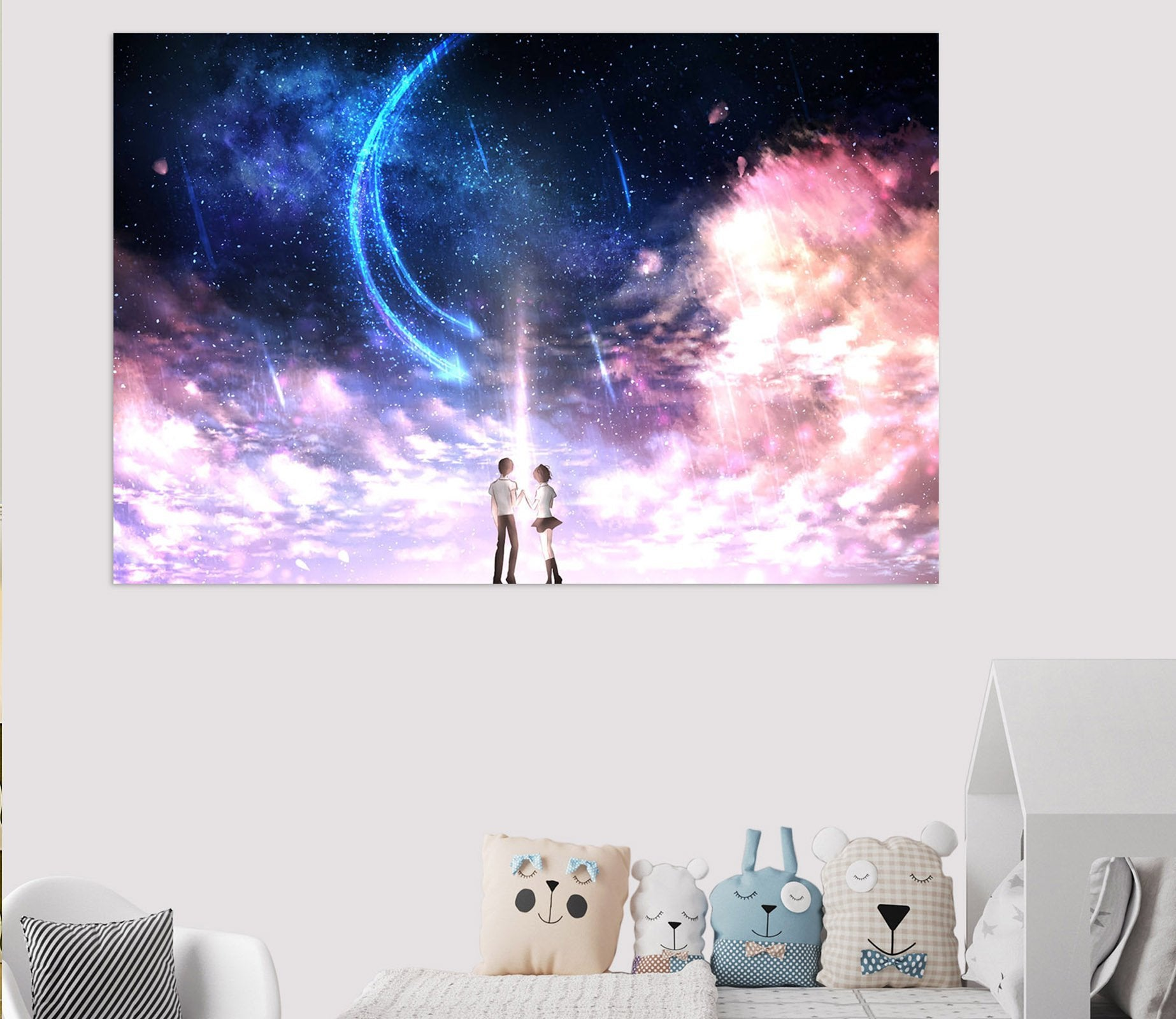 3D Your Name 994 Anime Wall Stickers Wallpaper AJ Wallpaper 2