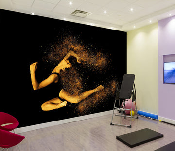 3D Dance Moves 319 Wall Murals