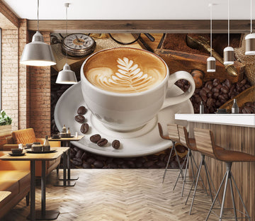 3D Coffee 35 Wall Murals