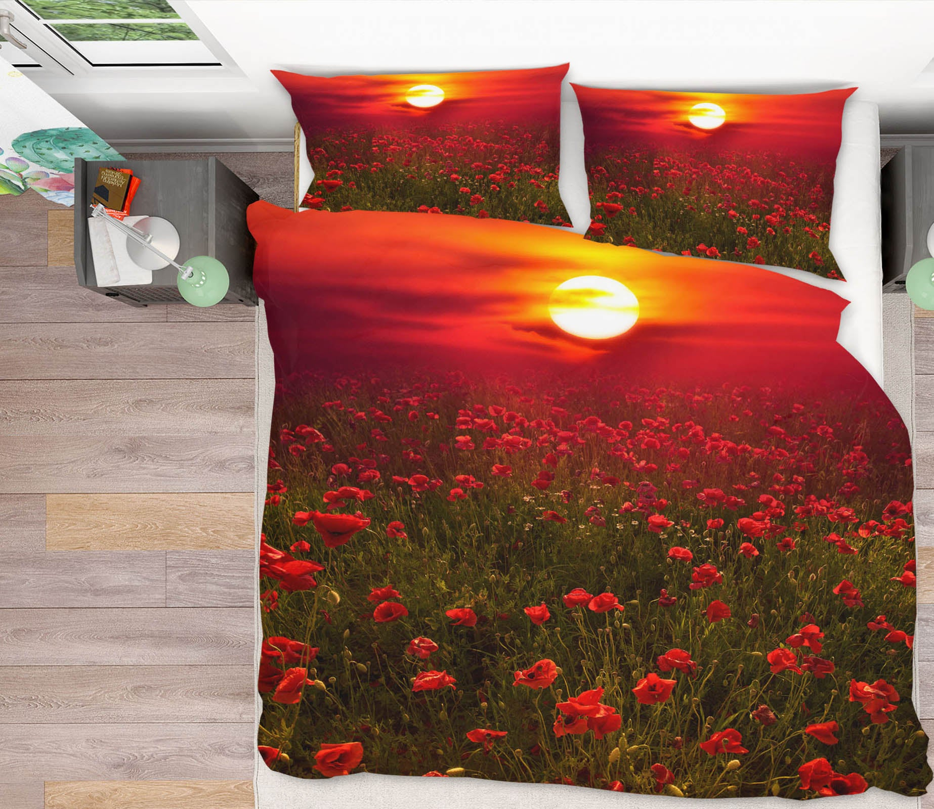 3D Warm Sunset 166 Marco Carmassi Bedding Bed Pillowcases Quilt