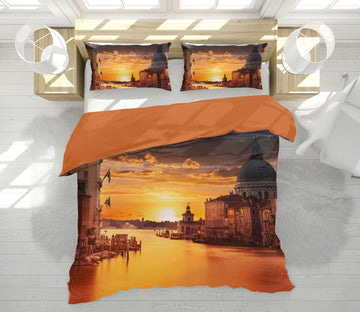 3D Sunset 2139 Marco Carmassi Bedding Bed Pillowcases Quilt