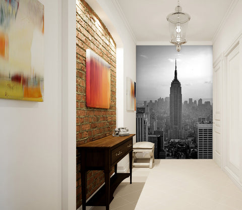 3D Black And White City 113 Wall Murals Wallpaper AJ Wallpaper
