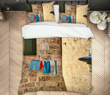 3D Ancient Customs 003 Marco Carmassi Bedding Bed Pillowcases Quilt