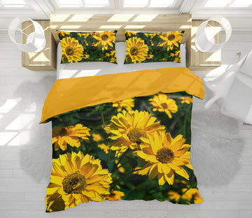 3D Sun Sunflower 1035 Jerry LoFaro bedding Bed Pillowcases Quilt
