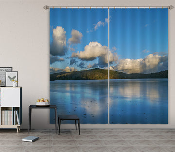 3D Swept Clouds 001 Jerry LoFaro Curtain Curtains Drapes