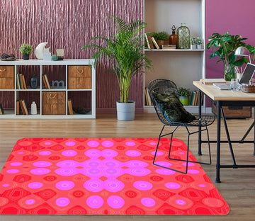 3D Color Pattern 71013 Shandra Smith Rug Non Slip Rug Mat