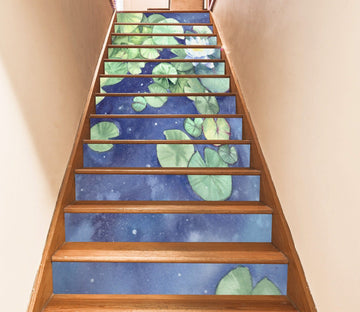 3D Flowers 4082 Stair Risers Wallpaper AJ Wallpaper