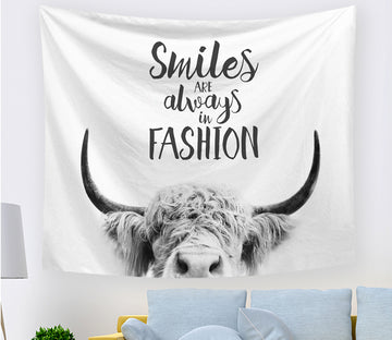 3D Sheep Horn 2411 Tapestry Hanging Cloth Hang