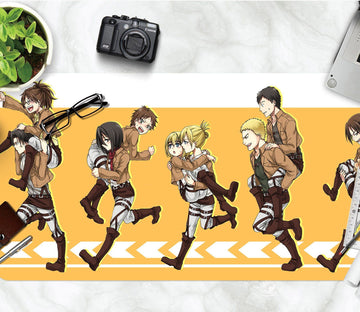 3D Attack On Titan 364 Anime Desk Mat Mat AJ Creativity Home