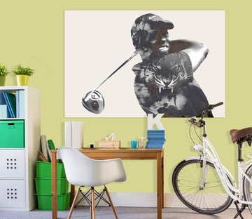 3D Athletic Girl 018 Marco Cavazzana Wall Sticker Wallpaper AJ Wallpaper 2