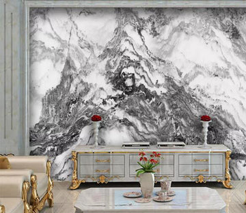 3D Black Pattern WC1043 Wall Murals