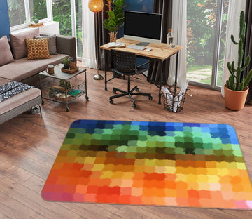 3D Colored Multicultural 71011 Shandra Smith Rug Non Slip Rug Mat