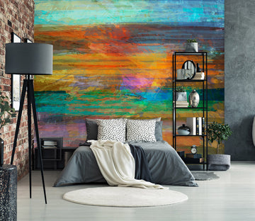 3D Colorful Pattern 1532 Michael Tienhaara Wall Mural Wall Murals