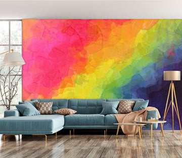 3D Bright Colors 1405 Shandra Smith Wall Mural Wall Murals