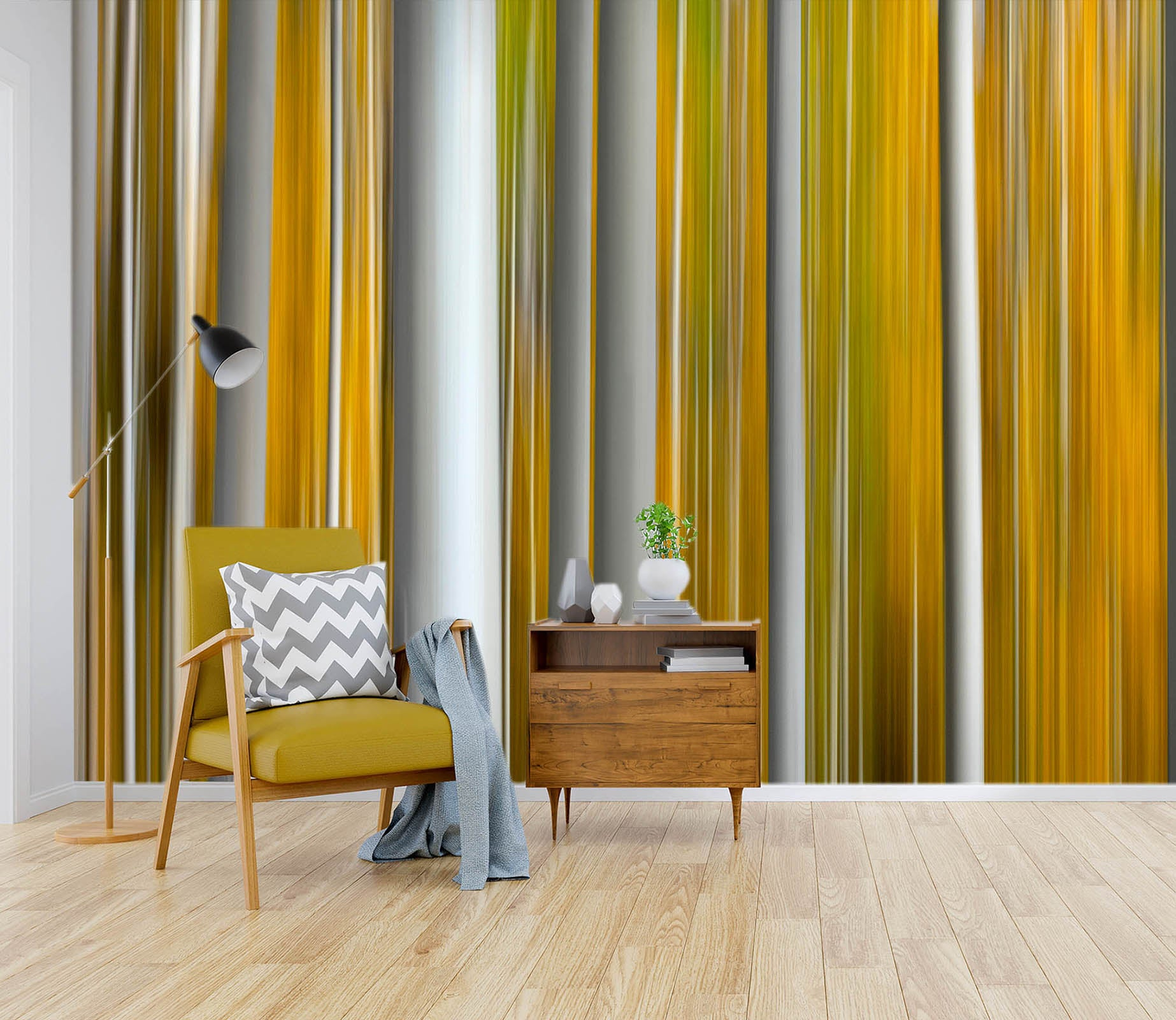 3D Parallel Lines 1418 Marco Carmassi Wall Mural Wall Murals