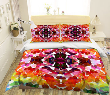3D Colored Petals 2003 Shandra Smith Bedding Bed Pillowcases Quilt