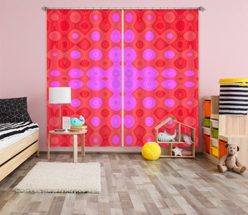 3D Color Pattern 71046 Shandra Smith Curtain Curtains Drapes