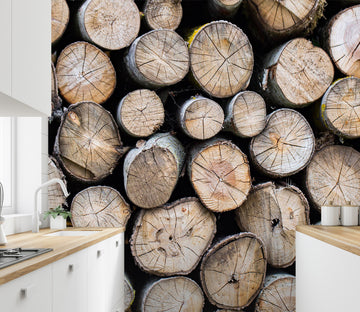 3D Texture Timber 83 Wall Murals