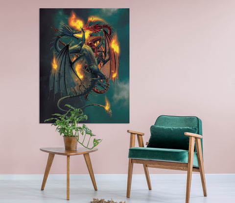 3D Clash Of The Titans 023 Vincent Hie Wall Sticker