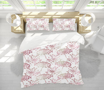 3D Red Flower Pattern 80055 Studio MetaFlorica Bedding Bed Pillowcases Quilt