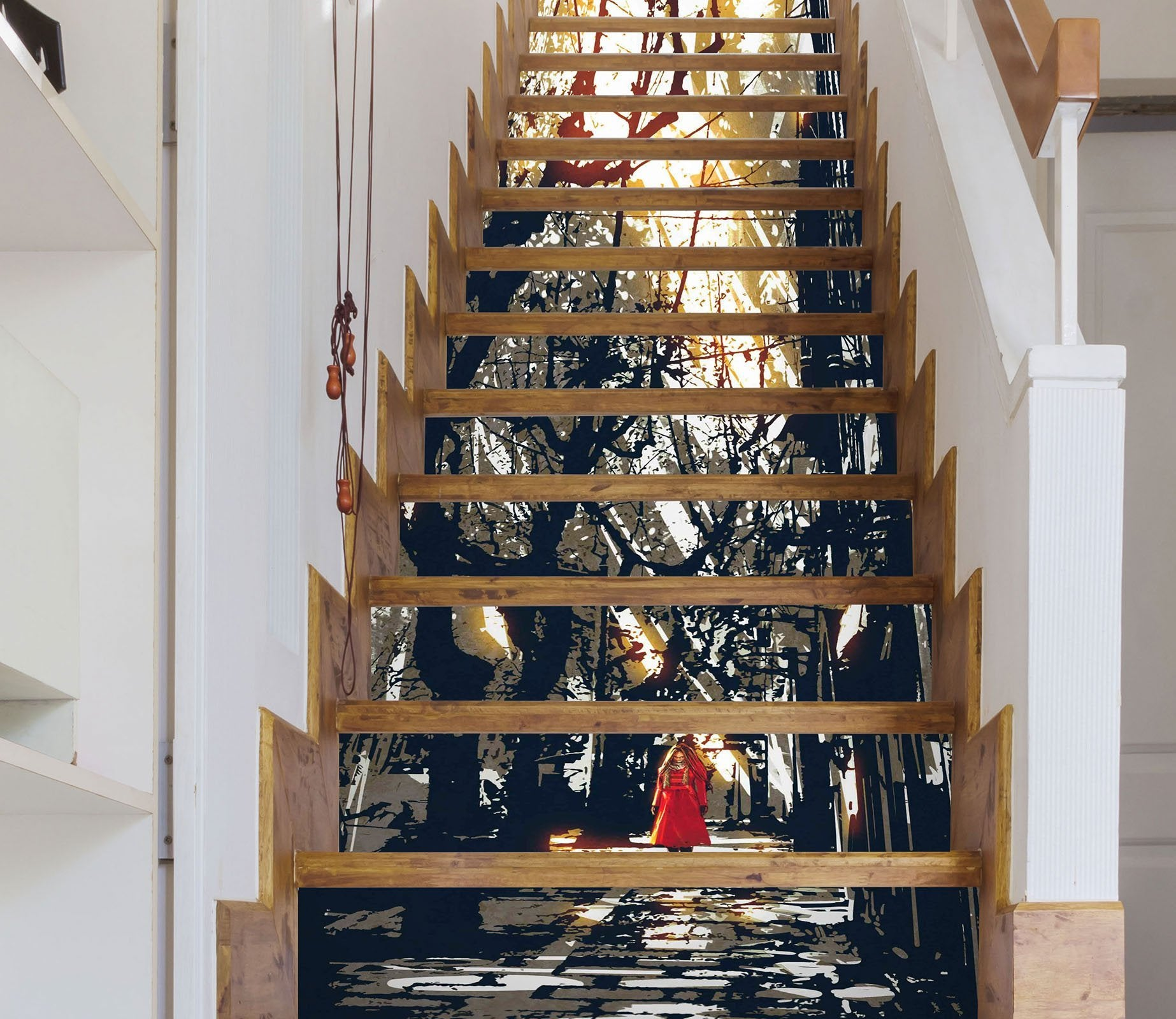 3D Painting 3216 Stair Risers