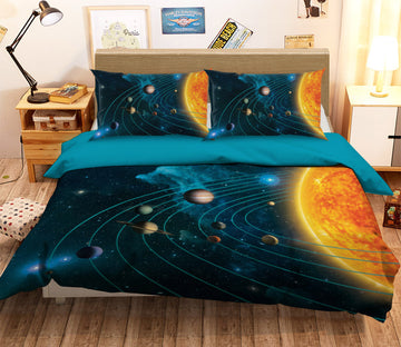 3D Solar System 082 Bed Pillowcases Quilt Exclusive Designer Vincent