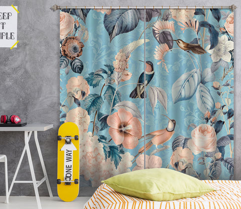 3D Flowers Home 062 Andrea haase Curtain Curtains Drapes