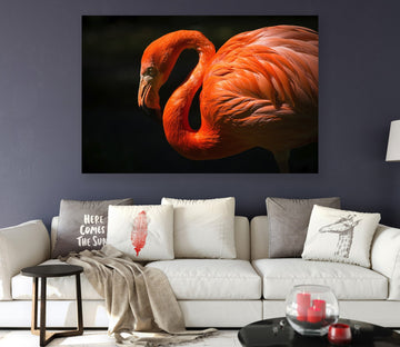 3D Flamingo 14 Animal Wall Stickers
