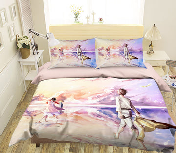 3D Attack On Titan 1633 Anime Bed Pillowcases Quilt Quiet Covers AJ Creativity Home